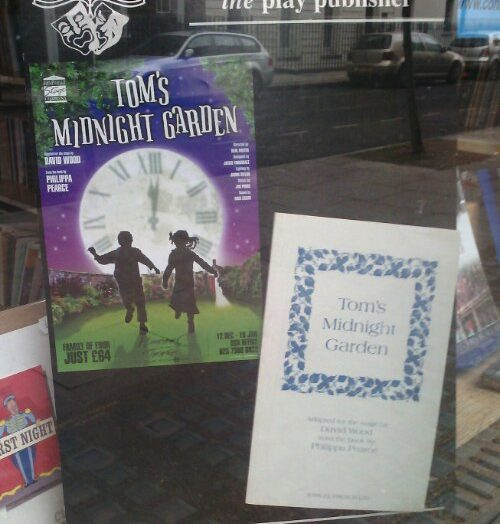 Tom's Midnight Garden spotted at Samuel French